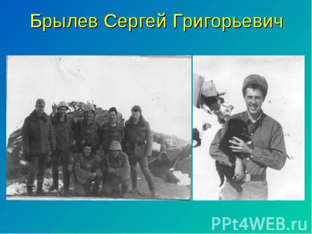 Брылев Сергей Григорьевич