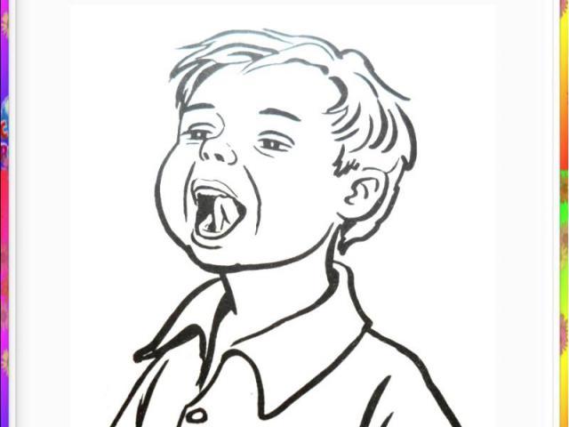 Шесть - почистим наше нёбо,Нёбо чистым стало чтобы.Рот широко открыть. Проводить широким языком вперед-назад по небу.Рот не закрывать.