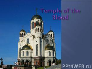Temple of the Blood