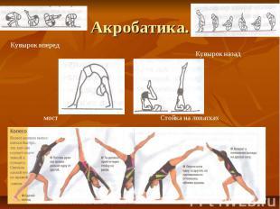 Акробатика.