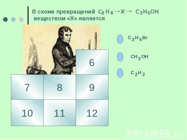 В схеме превращений С Н Х С Н ОН веществом «Х» является