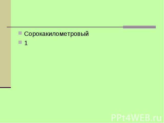 Сорокакилометровый1