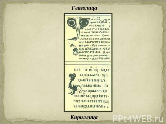 ГлаголицаКириллица