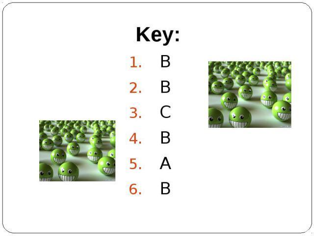 Key:BBCBAB