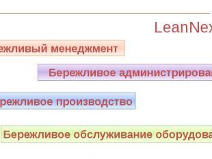 LeanNext LeanNext