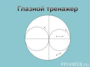 Глазной тренажер