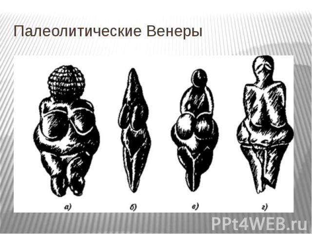 Палеолитические Венеры