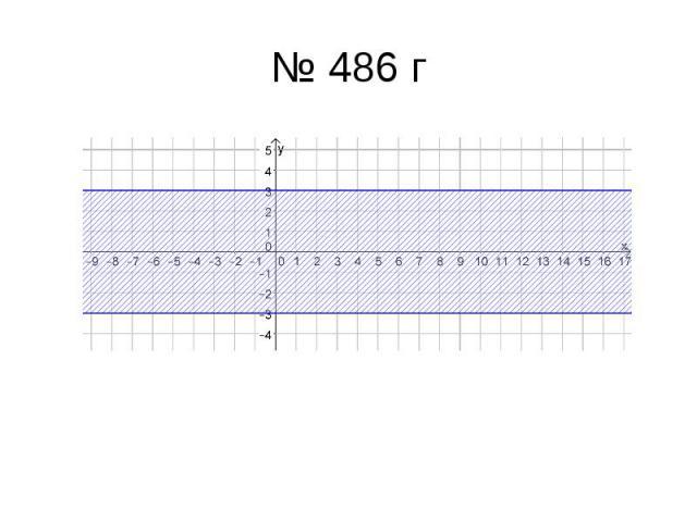 № 486 г