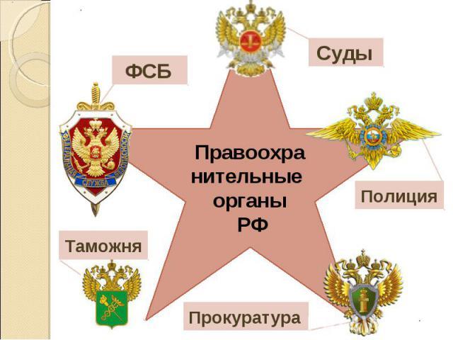 Правоохранительные органы РФ