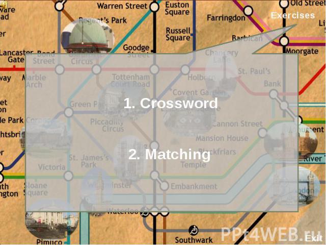 1. Crossword2. Matching