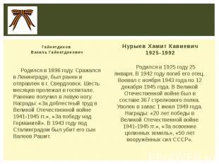 Гайнетдинов Вакиль Гайнетдинович