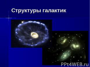 Структуры галактик