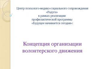 Центр психолого-медико-социального сопровождения «Радуга» в рамках реализации пр