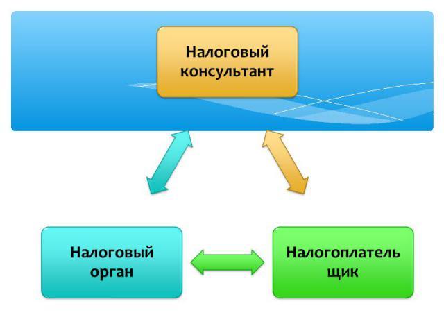 Налоговый консультант Налоговый органНалогоплательщик