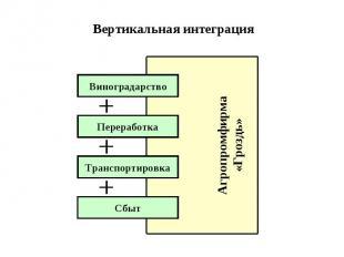 Вертикальная интеграция