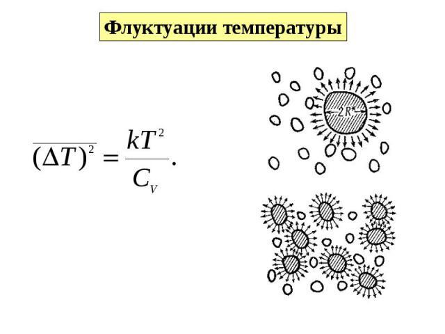 Флуктуации температуры