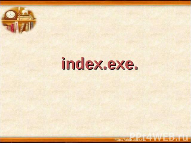 index.exe.
