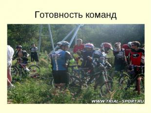 Готовность команд