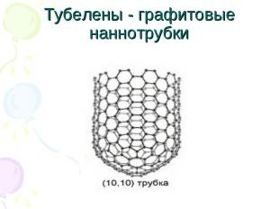 Тубелены - графитовые наннотрубки