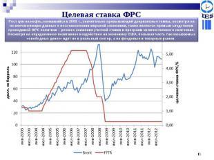 Рост цен на нефть, начавшийся в 2009 г., значительно превышающий докризисные тем