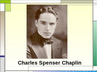 Charles Spenser Chaplin