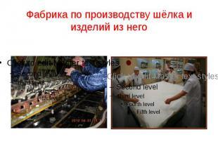 Фабрика по производству шёлка и изделий из него