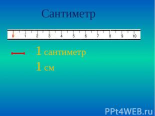 Сантиметр 1 сантиметр1 см
