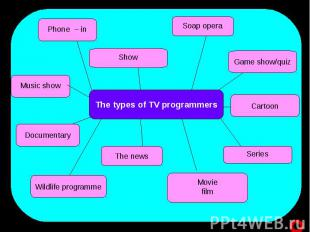The types of TV programmers