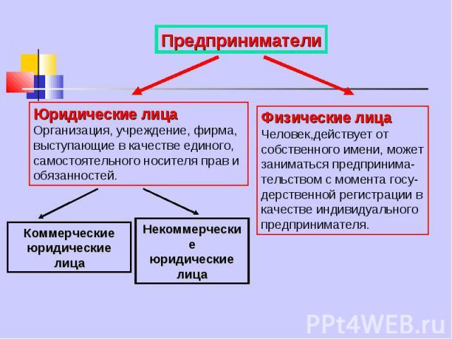 предприниматель Смиркин физическое лицо проекта это входы