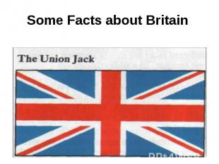 Some Facts about Britain