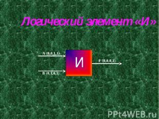 Логический элемент «И»