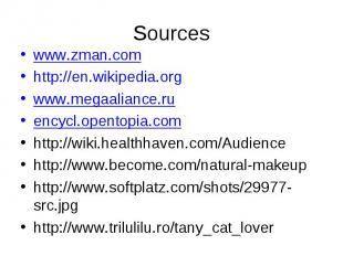 www.zman.comhttp://en.wikipedia.orgwww.megaaliance.ruencycl.opentopia.comhttp://