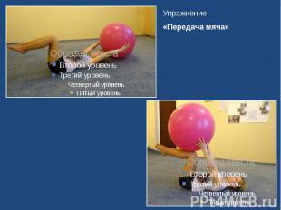 Упражнение Упражнение «Передача мяча»