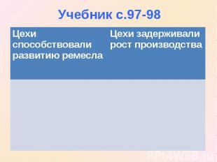Учебник с.97-98