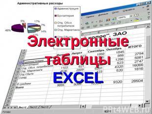 Электронные таблицыEXCEL