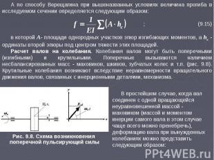 А по способу Верещагина при вышеназванных условиях величина прогиба в исследуемо