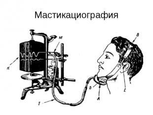 Мастикациография