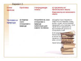 а)Судьба Гоши Герцева из повести В.Астафьева «Царь-рыба» служит иллюстрацией кар