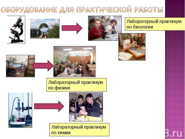 Лабораторный практикум по биологии Лабораторный практикум по физике Лабораторный практикум по химии