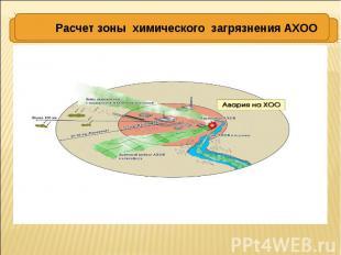 ХРАНЕНИЕ АХОВ Расчет зоны химического загрязнения АХОО