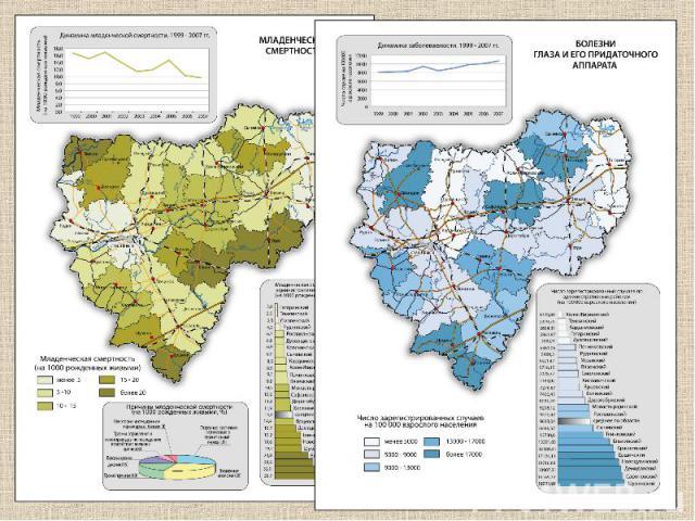 Картограммы Картограммой называют способ изображения средней интенсивности какого-либо явления в пределах определенных территориальных единиц, чаще всего административных, не связанных с действительным, географически обоснованным районированием этог…