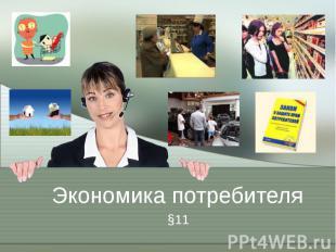 Экономика потребителя §11