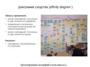 Диаграмма сходства (affinity diagram ) Диаграмма сходства (affinity diagram ) 12