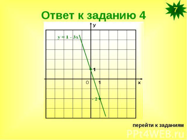 Ответ к заданию 4