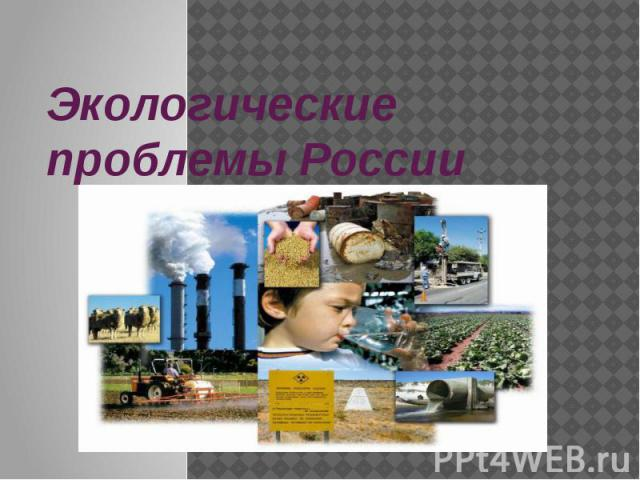 Экологические проблемы России