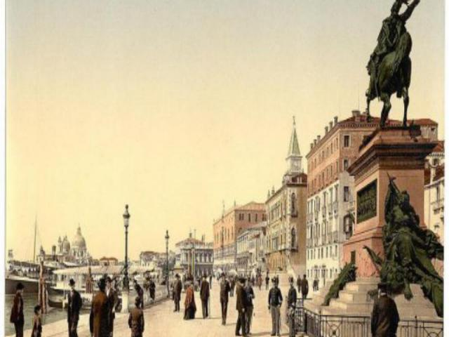 Итальянское общество начала 20 века – общество мужчин