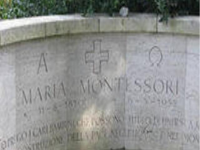 Могила Марии Монтессори