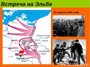 Встреча на Эльбе25 апреля 1945 года