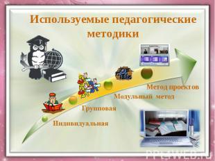 Используемые педагогические методики