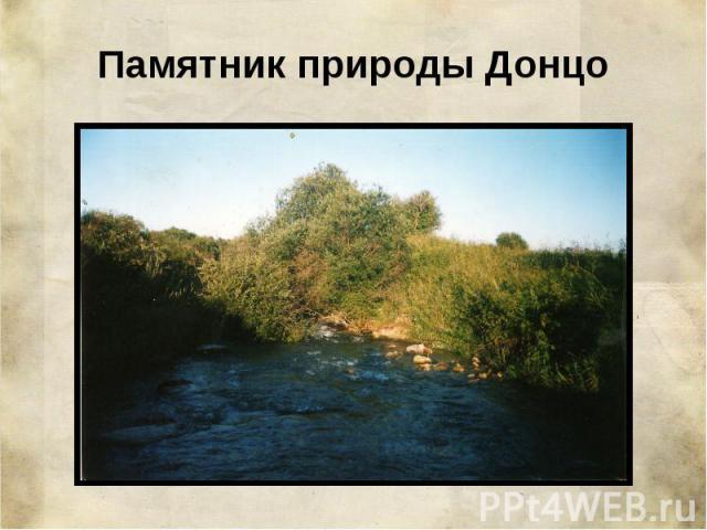 Памятник природы Донцо